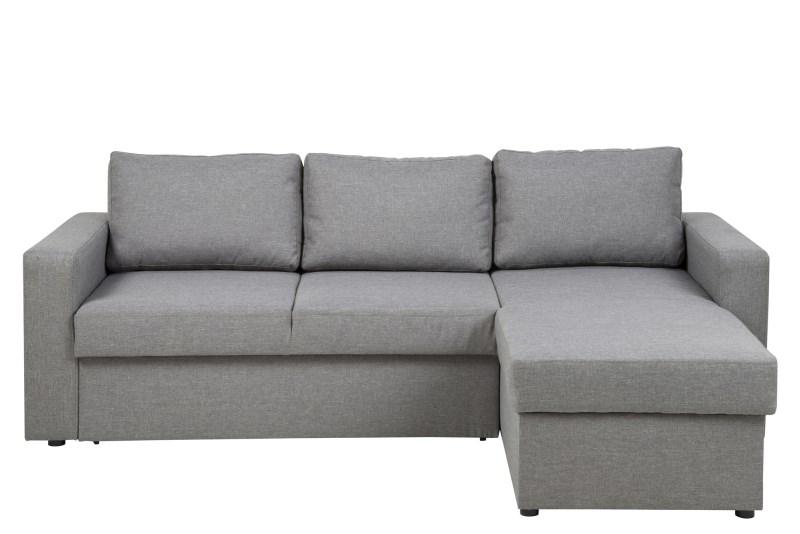 Silo sovesofa i lys grå thumbnail