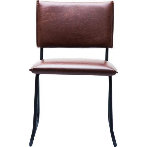 Billede af Duran Vintage Brown stol