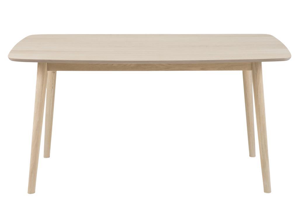 Nagano spisebord - hvidpigmenteret egetræ thumbnail