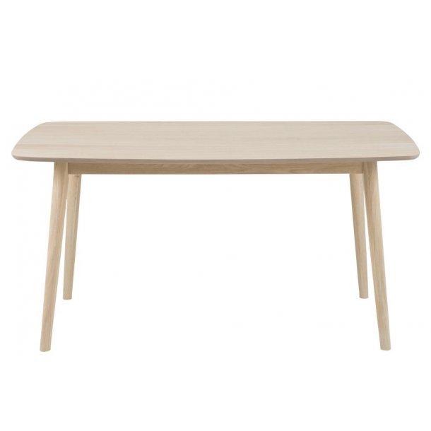 Nagano spisebord, hvidpigmenteret