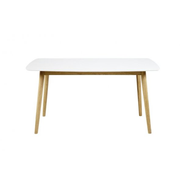 Nagano spisebord, hvid