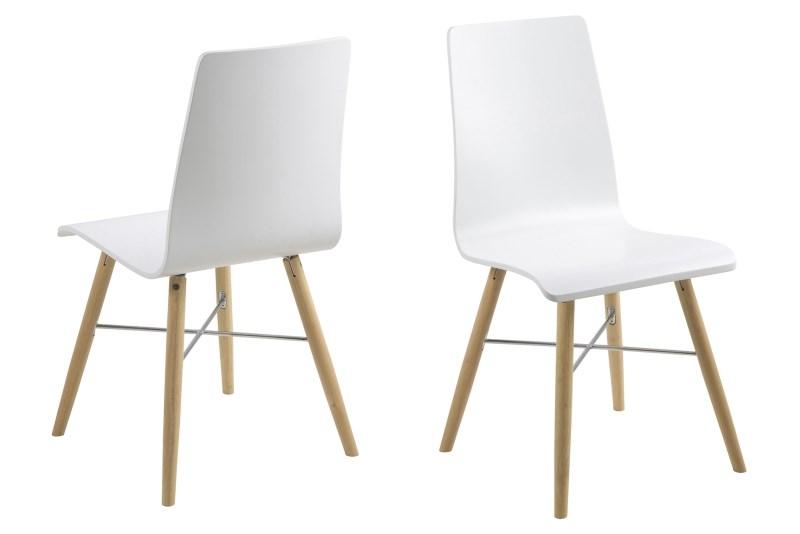 Milton spisebordsstol - hvid