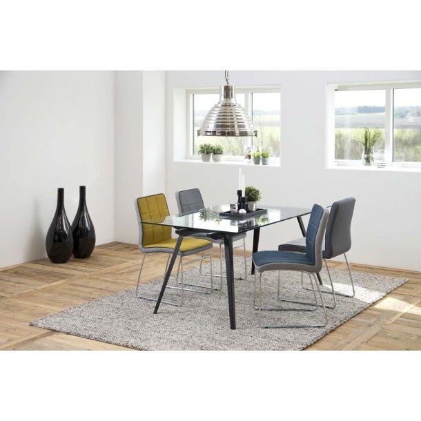 Justin spisebordsstol - grå
