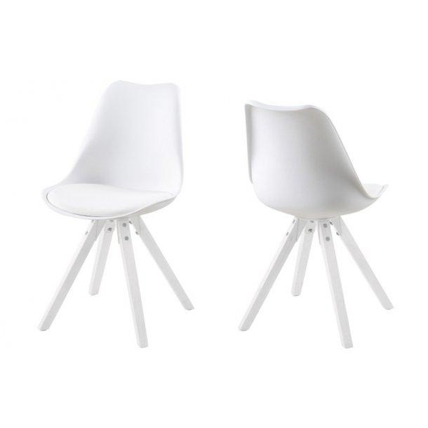 Dima spisebordsstol - hvid