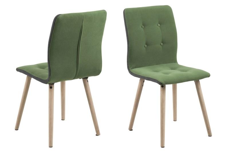 Billede af Frida spisebordsstol - grøn