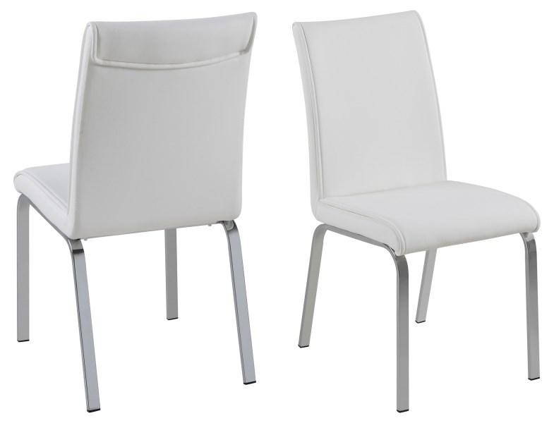 Leonora spisebordsstol - hvid