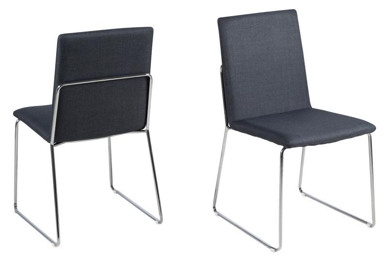 Billede af Kitos spisebordsstol - mørkegrå