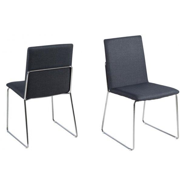 Kitos spisebordsstol - mørkegrå