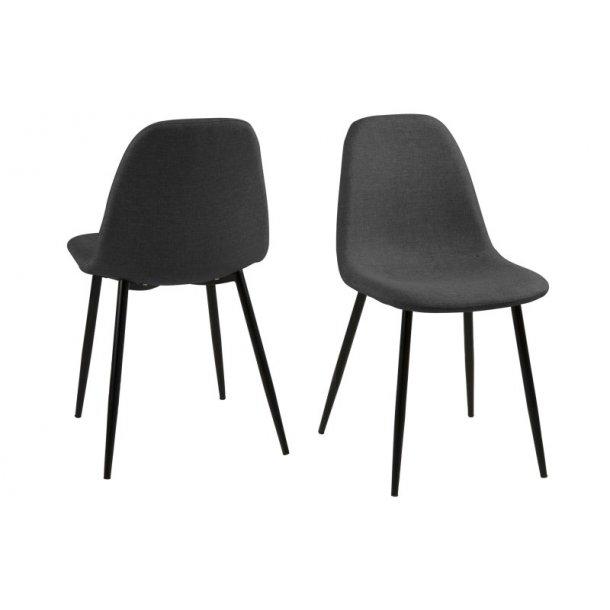 Wilma spisebordsstol - grå