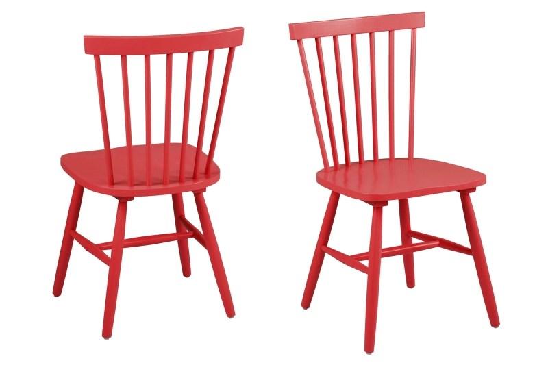 Billede af Riano spisebordsstol - rød