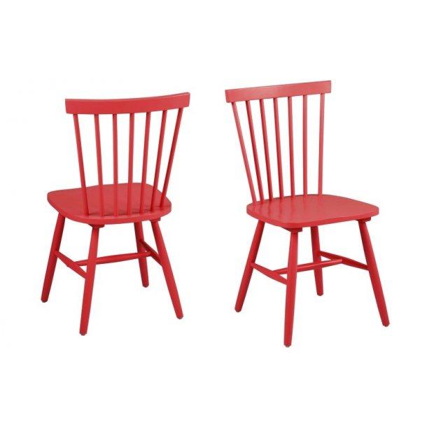 Riano spisebordsstol - rød