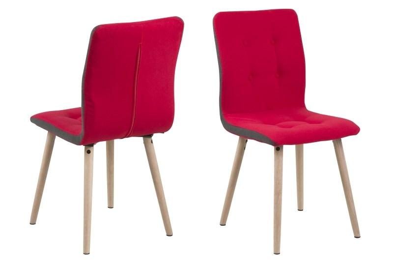 Billede af Frida spisebordsstol - rød