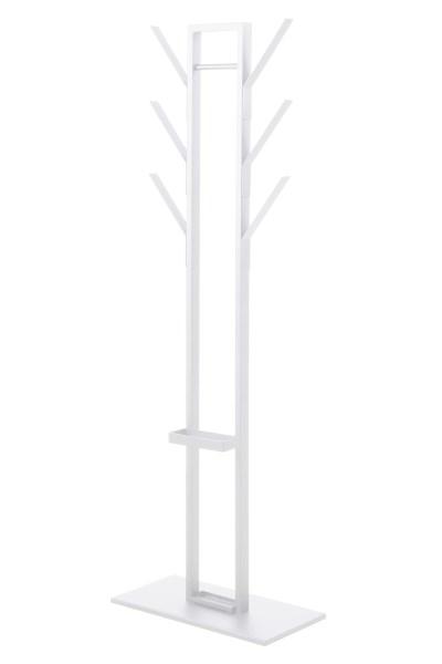 Vinson stumtjener - hvid metal, dobbelt