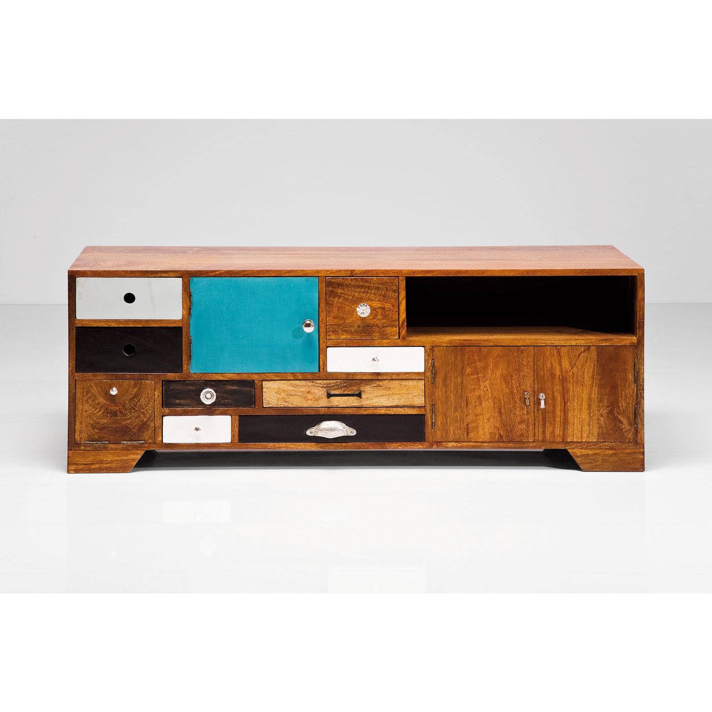 kare design – Kare design babalou tv-bord - lakeret træ, m. 8 skuffer i forskellige farver på boboonline.dk