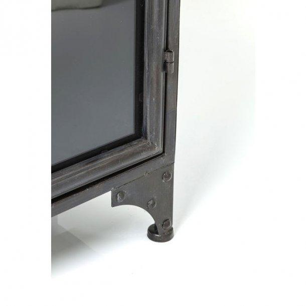 KARE DESIGN Factory kabinet - stål og glas