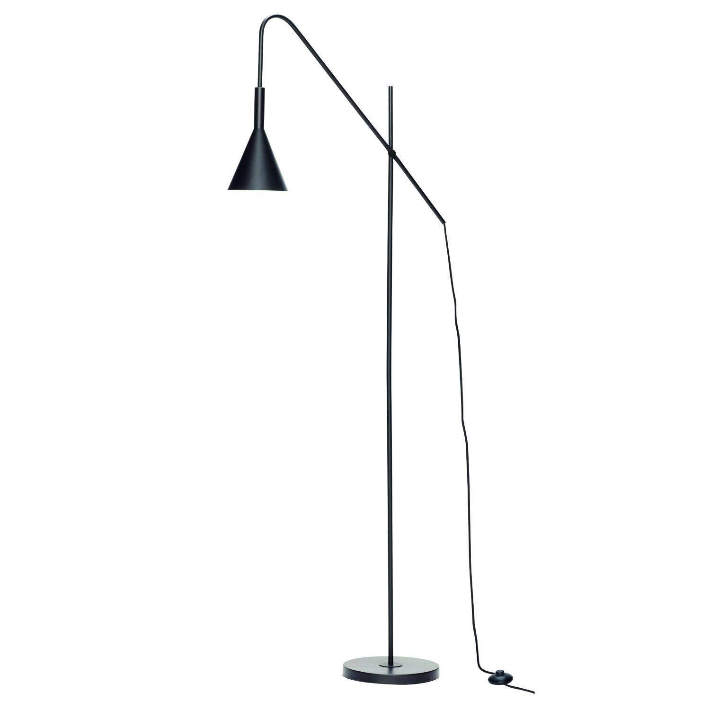 H?bsch gulvlampe - sort metal fra hübsch fra boboonline.dk
