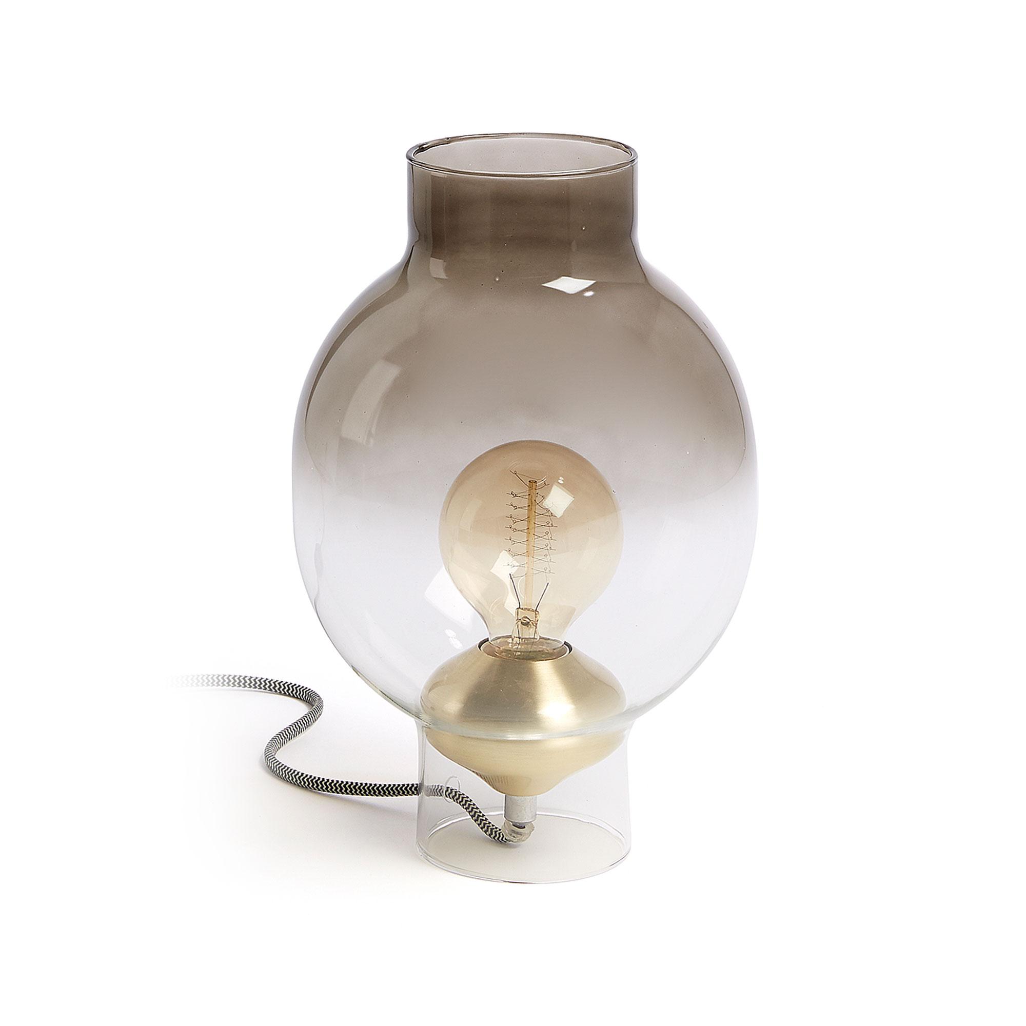 Billede af LAFORMA Menzie bordlampe - glas, rund (Ø20)