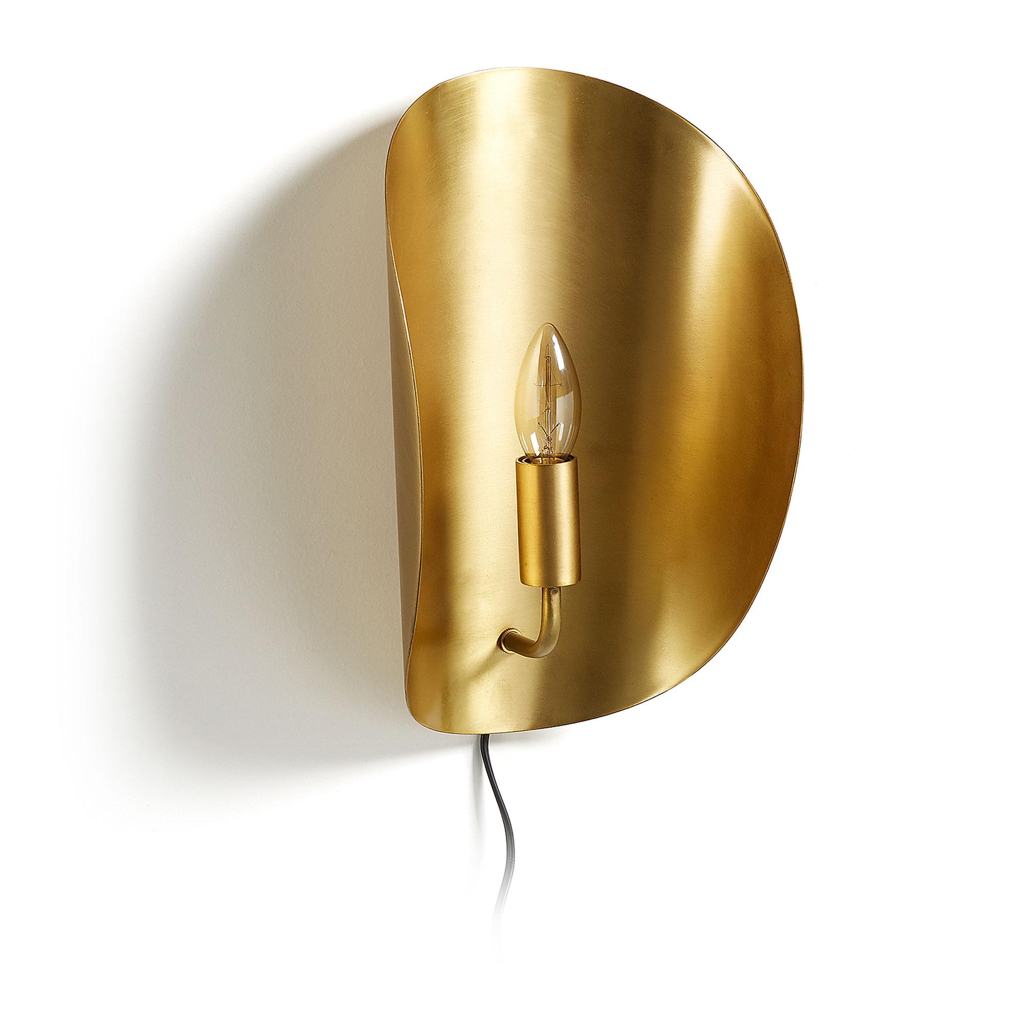 laforma – Laforma calheiro væglampe - messing metal på boboonline.dk