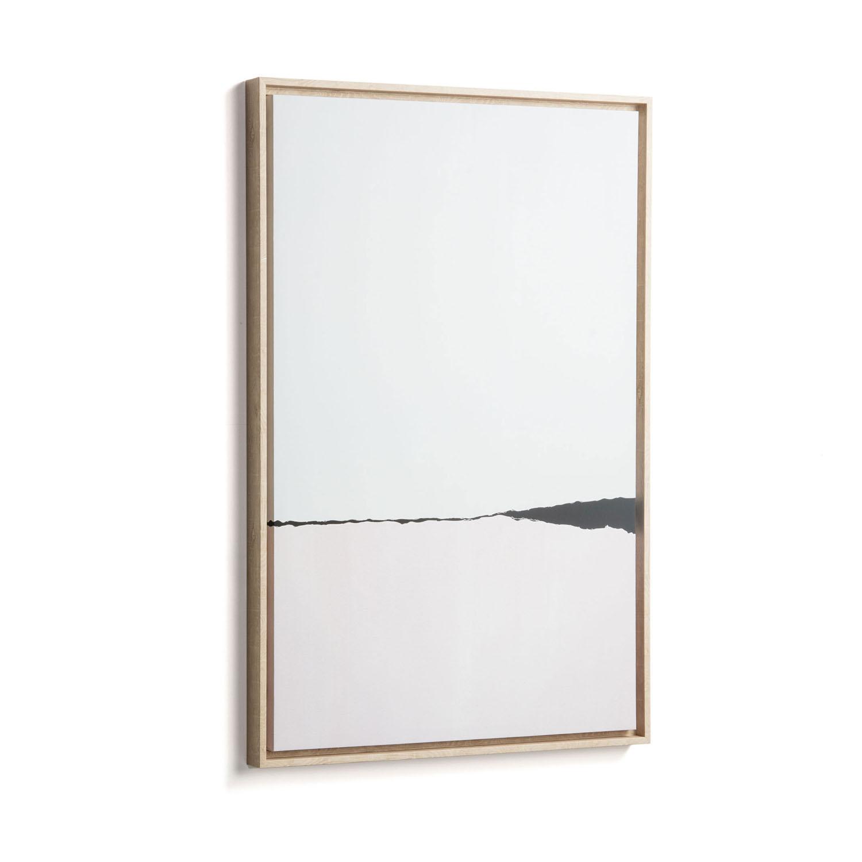 laforma – Laforma rektangulær wrigley billede - multifarvet papir og træ (90x60) på boboonline.dk