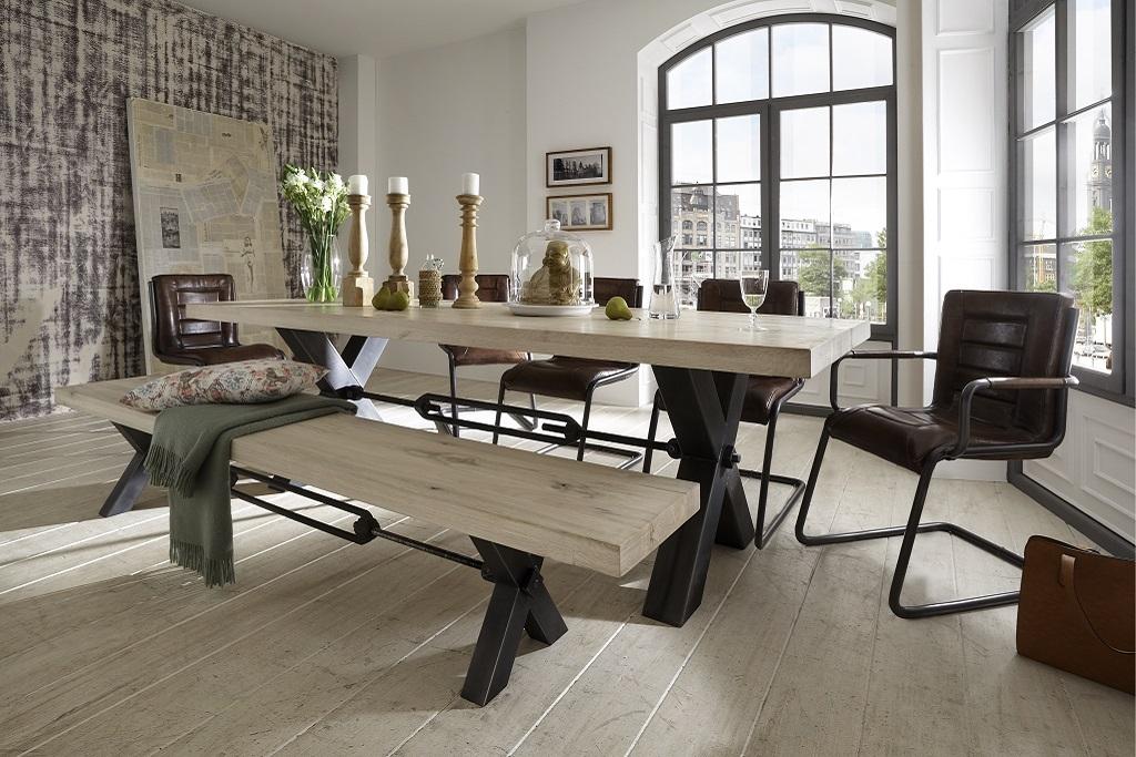 bodahl Bodahl kansas plankebord - olie/sand/desert eg 260 x 100 cm 05 = sand fra boboonline.dk