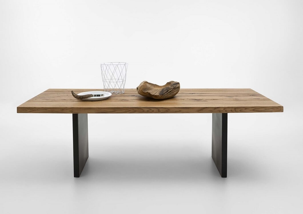 BODAHL Lucca plankebord - Old Bassano eg 240 x 100 cm 06 = old bassano