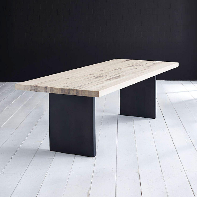 BODAHL Concept 4 You Plankebord - desert eg m. lige kant og T-ben, m. udtræk 6 cm 240 x 100 cm