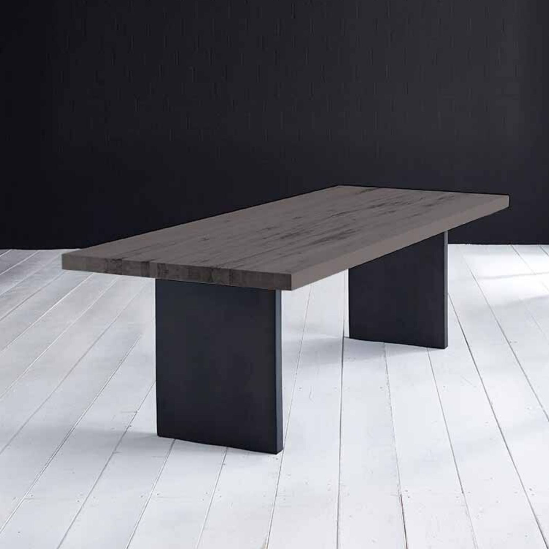 BODAHL Concept 4 You Plankebord - moccasort eg m. lige kant og T-ben, m. udtræk 6 cm 260 x 100 cm
