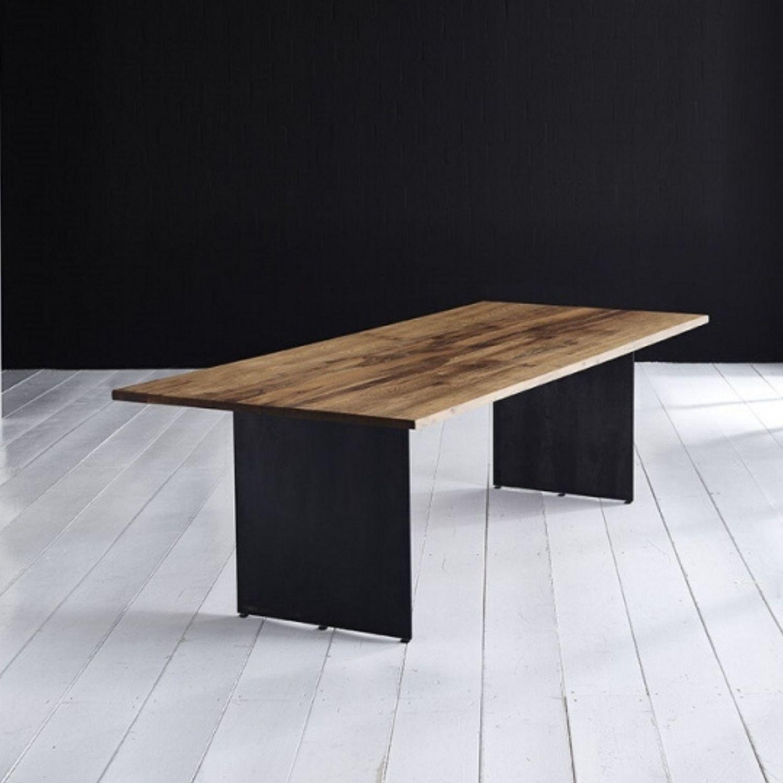 BODAHL Concept 4 You plankebord - olieret eg, m. lige kant og Line ben 6 cm 220 x 100 cm