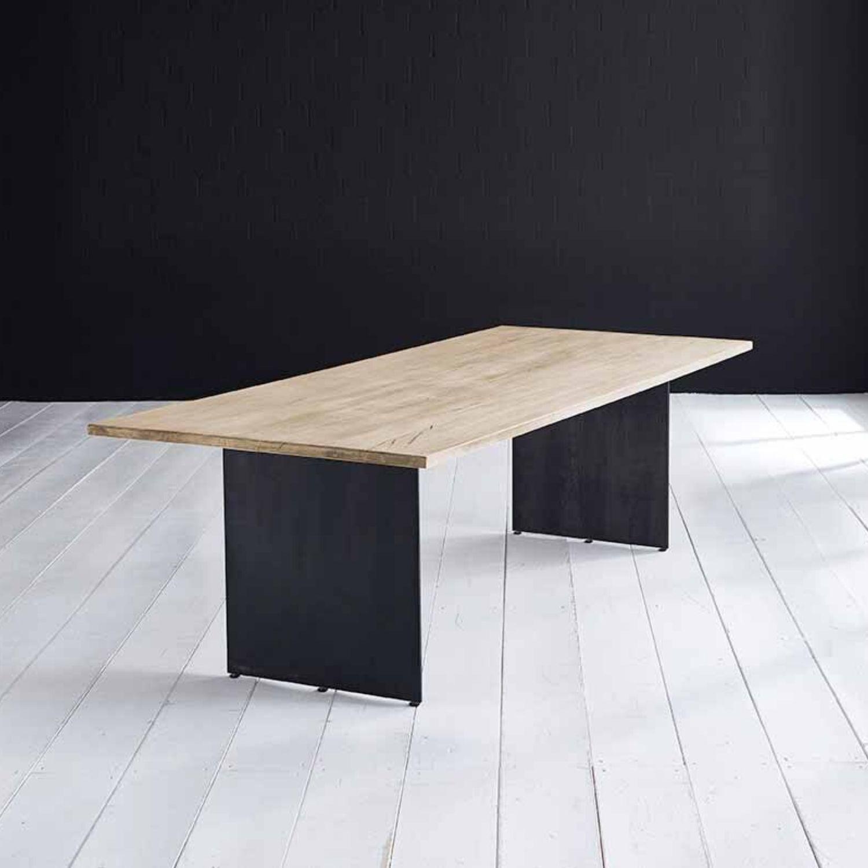 BODAHL Concept 4 You plankebord - desert eg, m. lige kant og Line ben 6 cm 180 x 110 cm
