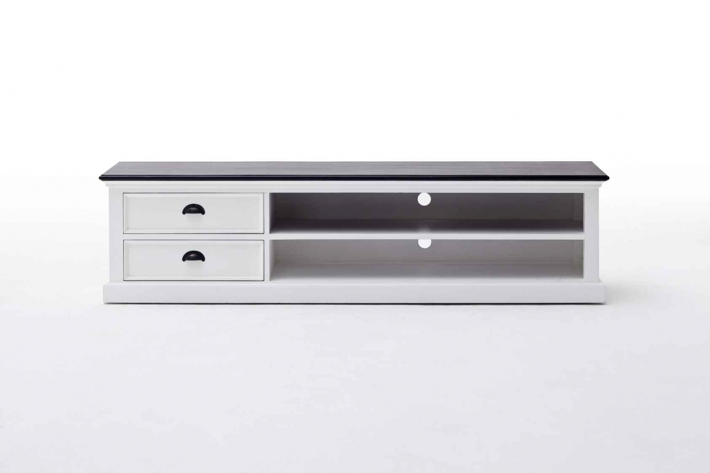 Image of   Novasolo Halifax Stort TV-bord med 2 skuffer