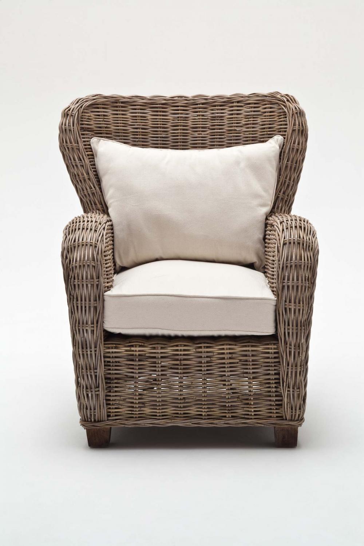 NOVASOLO Wickerworks Queen stol inkl. sæde- og ryghynde