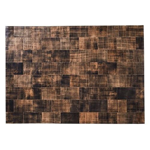 FUHRHOME Cairo - Læder tæppe (120x180cm) thumbnail