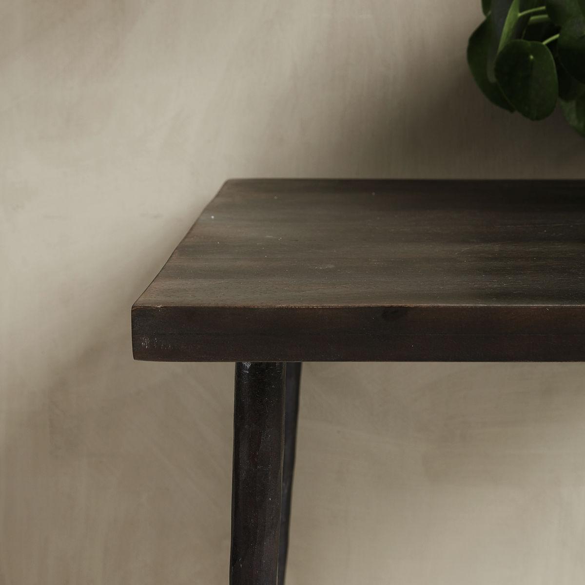 house doctor slated 2 person spisebord spiseborde bobo. Black Bedroom Furniture Sets. Home Design Ideas