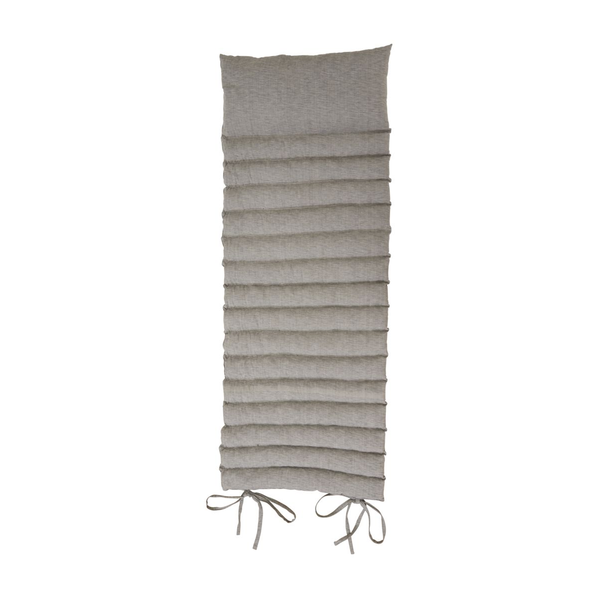 house doctor – House doctor liggemadras - grå/sandfarvet bomuld/uld (186x70) fra boboonline.dk