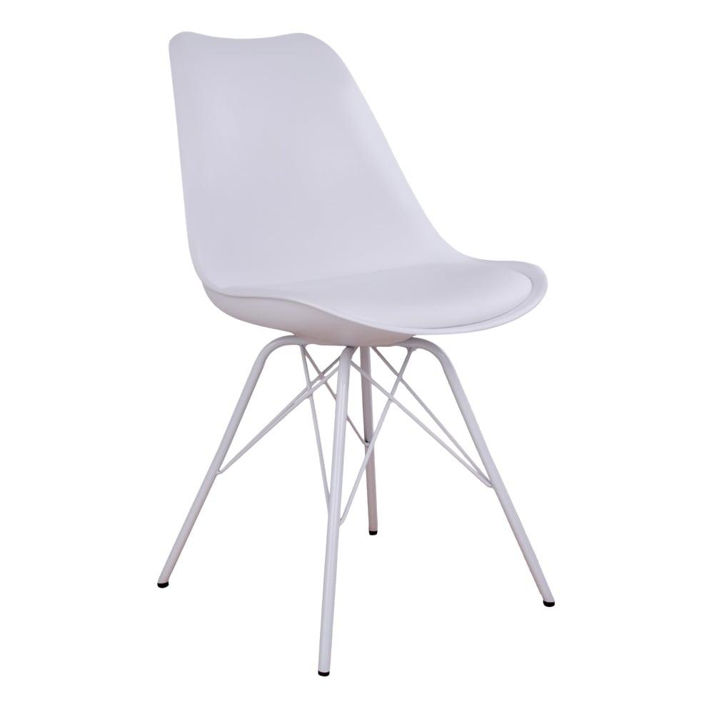 house nordic – House nordic oslo spisebordsstol i hvid med hvide ben fra boboonline.dk