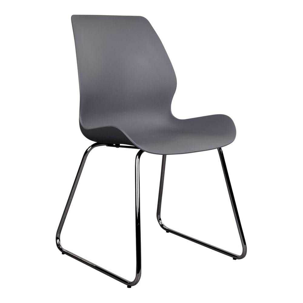 house nordic – House nordic sola spisebordsstol i grå med krom ben fra boboonline.dk