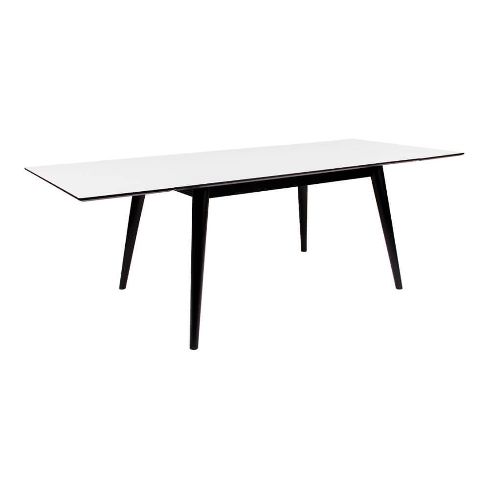 house nordic House nordic copenhagen spisebord - hvid/sort incl. 2 tillægsplader på boboonline.dk