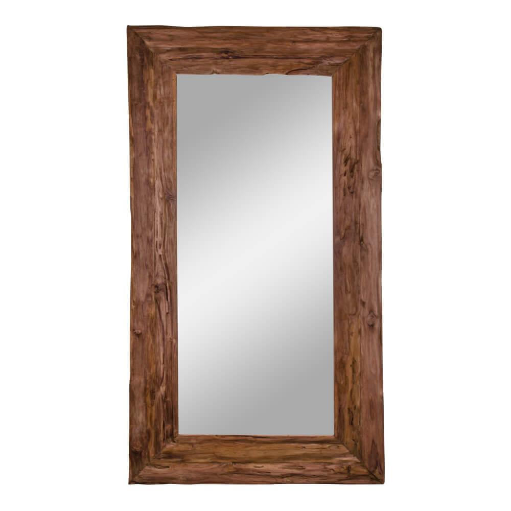 Billede af House Nordic Granada Antik spejl - Spejl i antik teaktræ