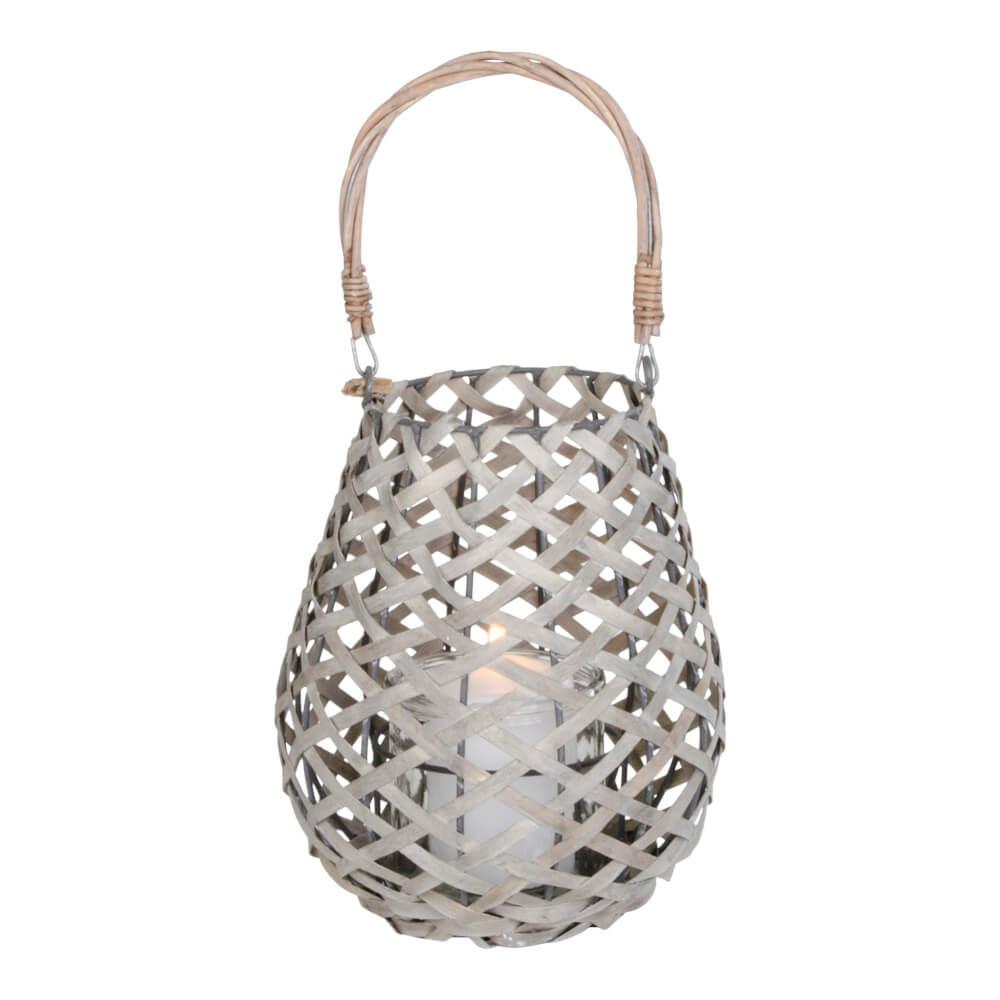 Billede af House Nordic Hasvik lanterne i grå med glas