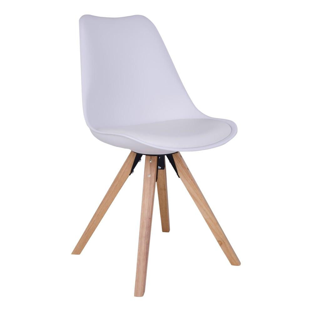 house nordic – House nordic bergen spisebordsstol i hvid med natur træben fra boboonline.dk