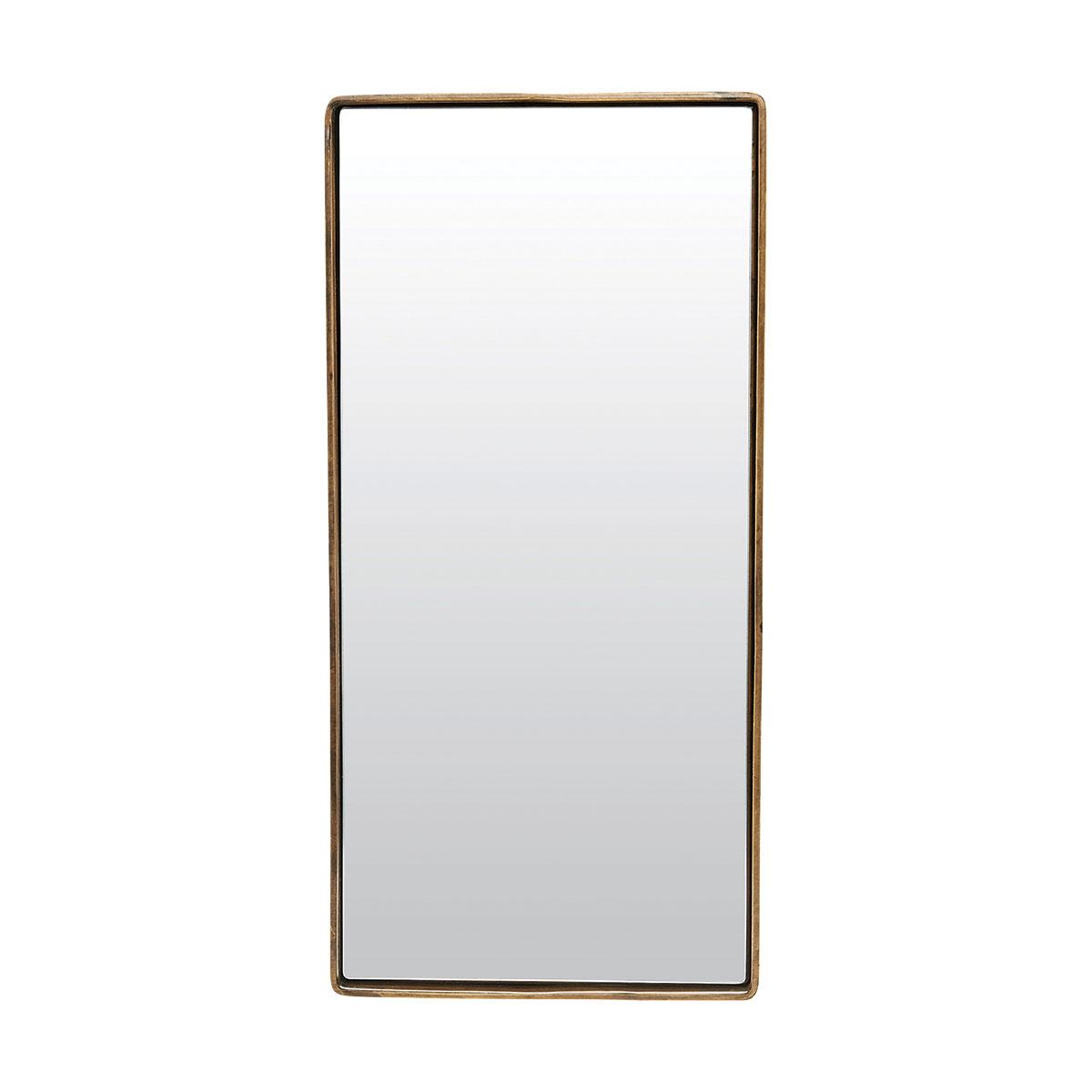 Billede af House Doctor Reflektion Spejl med messing belagt ramme
