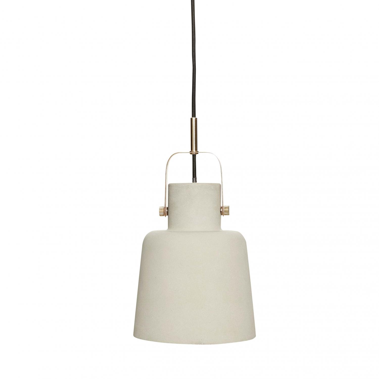 Billede af HÜBSCH beton loftlampe