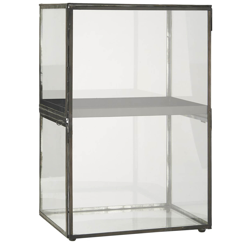 Køb IB LAURSEN Display, m. aftagelig metalhylde – glas og metal