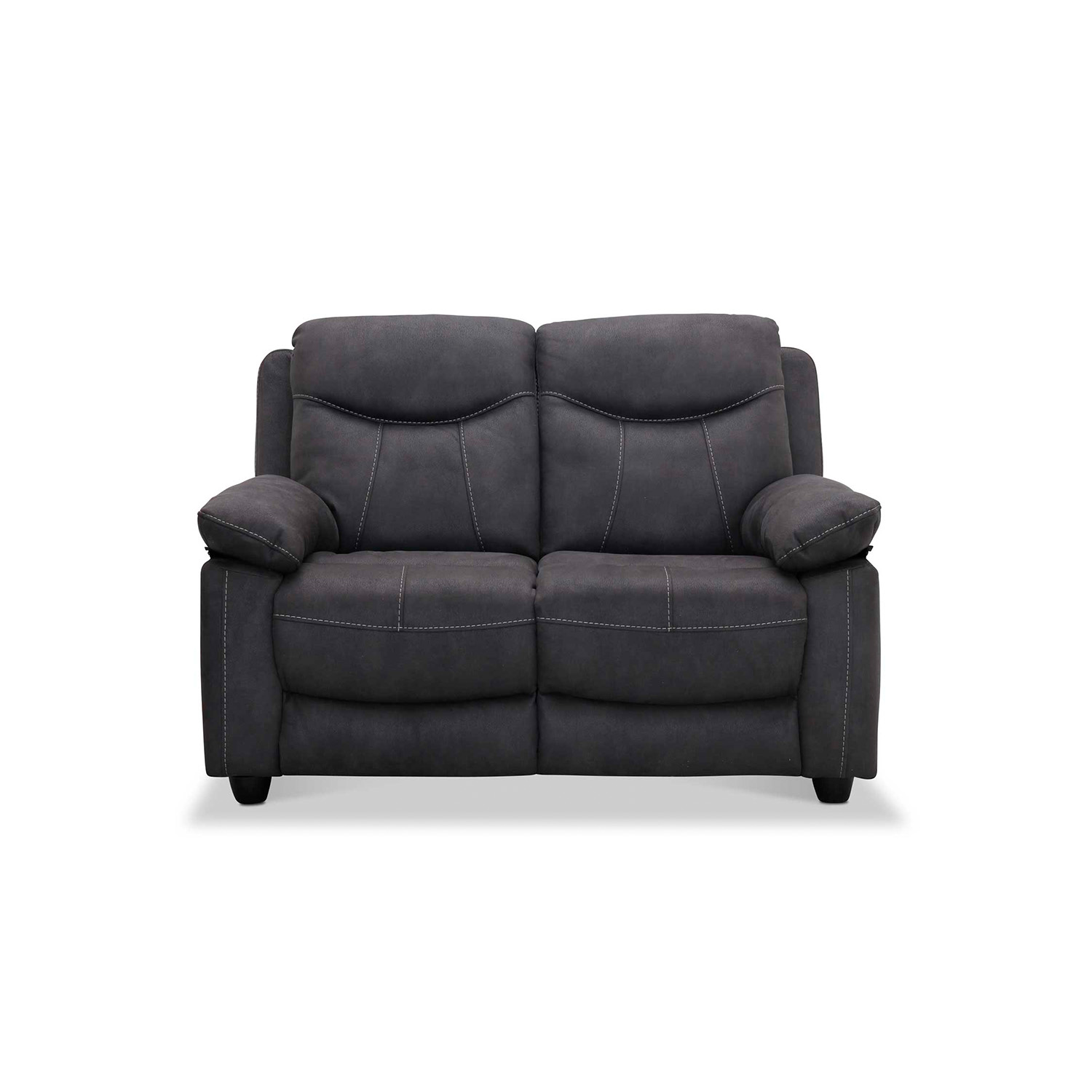 Image of   Boston 2 personers sofa, grå stof