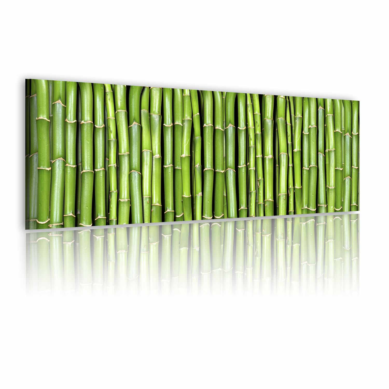 Image of   ARTGEIST Billede - Canvas print - Bamboo wall