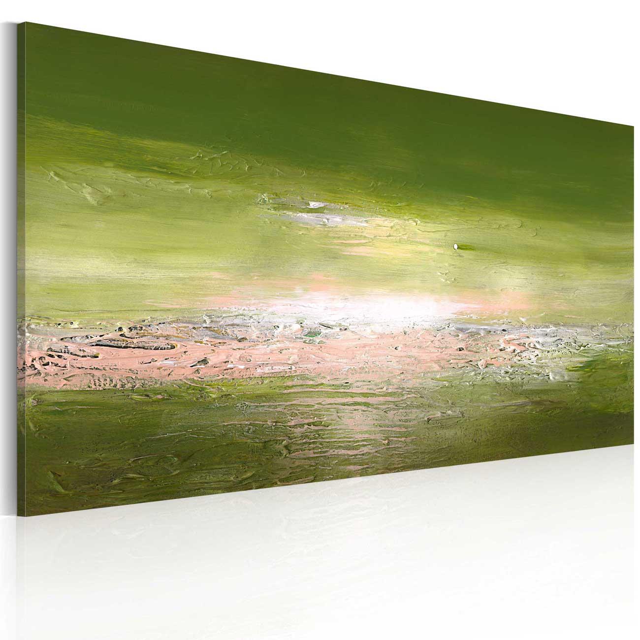 Image of ARTGEIST Åbent hav billede - multifarvet bomuldslærred/akrylfarver (60x120)