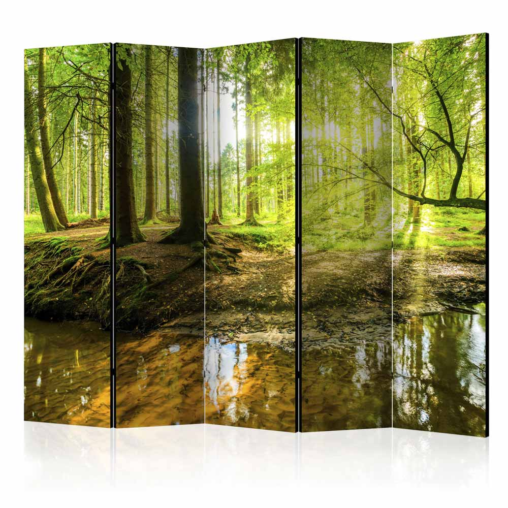 Image of   ARTGEIST Skærmvæg - Forest Lake II [Room Dividers]