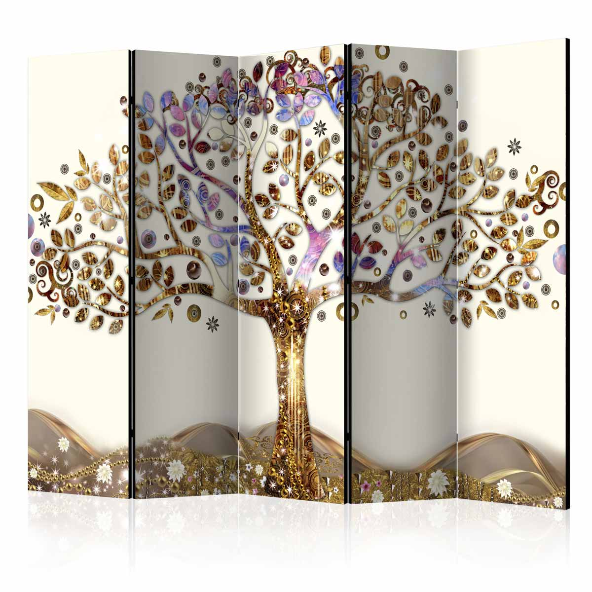 Image of   ARTGEIST Skærmvæg - Golden Tree II [Room Dividers]