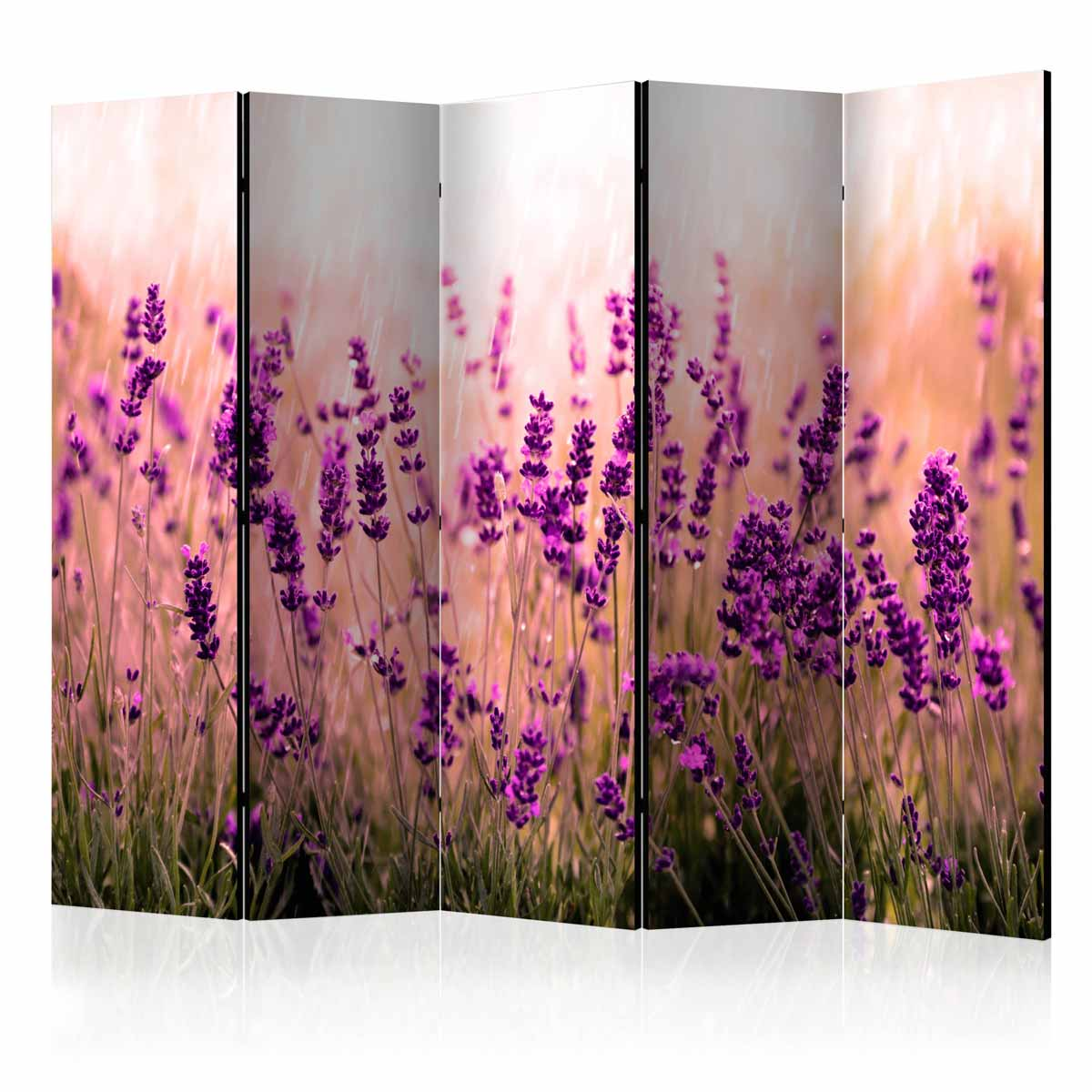 Image of   ARTGEIST Skærmvæg - Lavender in the Rain II [Room Dividers]