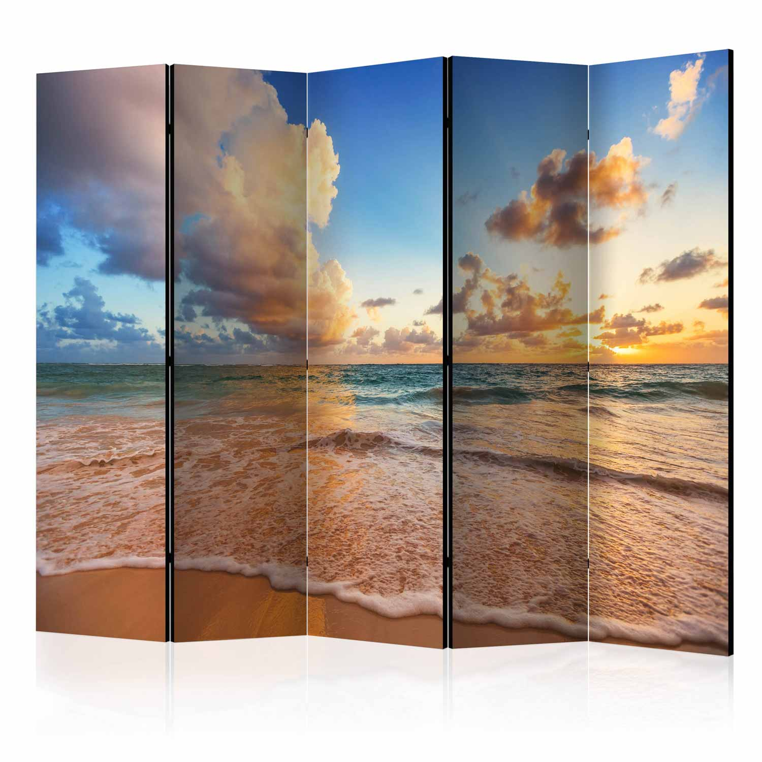 Image of   ARTGEIST Skærmvæg - Morning by the Sea II [Room Dividers]